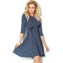 Sukienki: Paulina Rozkloszowana sukienka z rękawkiem