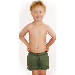Chłopięce szorty kąpielowe Leonard Salvia. Szare kąpielówki chłopięce Astratex, z materiału. Za 62,29 zł.