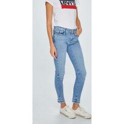 Tommy Hilfiger - Jeansy Venice. Niebieskie jeansy damskie rurki TOMMY HILFIGER, z bawełny. W wyprzedaży za 429,90 zł.