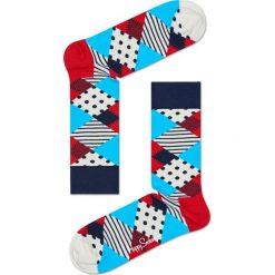 Happy Socks - Skarpety Multi. Szare skarpetki męskie Happy Socks, z bawełny. Za 34,90 zł.