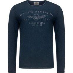 T-shirty męskie: T-shirt AERONAUTICA MILITARE Niebieski