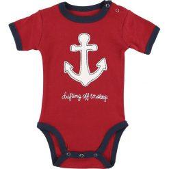 Body niemowlęce: Lazy One Drifting Off To Sleep Body czerwony/granatowy