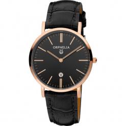 Zegarek kwarcowy w kolorze czarno-różowozłotym. Czarne, analogowe zegarki damskie Esprit Watches, ze stali. W wyprzedaży za 227,95 zł.