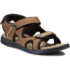 Sandały męskie: Sandały GREGOR – 01632-ME-NA211-SY Brązowy