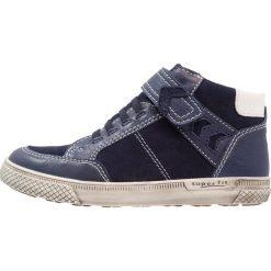 Superfit LUKE Tenisówki i Trampki wysokie ocean. Niebieskie buty sportowe chłopięce marki Superfit, z materiału. W wyprzedaży za 341,10 zł.