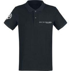 Arch Enemy Logo Koszulka Polo czarny. Czarne koszulki polo Arch Enemy, l, z nadrukiem. Za 99,90 zł.