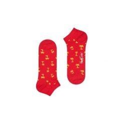 Skarpetki Happy Socks Low Socks PAB05-4000. Czerwone skarpetki męskie Happy Socks, z bawełny. Za 20,99 zł.