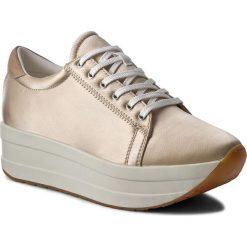 Sneakersy VAGABOND - Casey 4322-085-80 Light Gold. Żółte sneakersy damskie Vagabond, z materiału. W wyprzedaży za 279,00 zł.