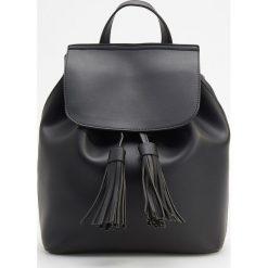 Klasyczny plecak - Czarny. Czarne plecaki damskie Reserved, klasyczne. Za 119,99 zł.