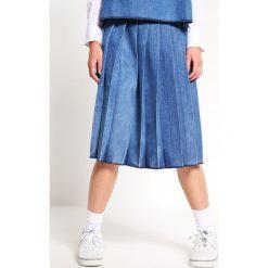 Spódniczki jeansowe: Mads Nørgaard Spódnica jeansowa worn stone