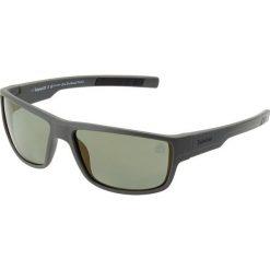 Timberland Okulary przeciwsłoneczne matte dark green/green. Szare okulary przeciwsłoneczne męskie aviatory Timberland. Za 459,00 zł.