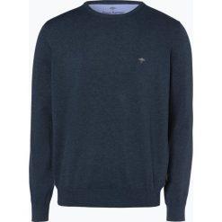 Fynch Hatton - Sweter męski, niebieski. Niebieskie swetry klasyczne męskie Fynch-Hatton, m, z dzianiny. Za 249,95 zł.