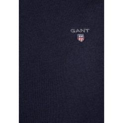 GANT THE ORIGINAL C NECK Bluza evening blue. Niebieskie bluzy dziewczęce marki GANT, z bawełny. Za 249,00 zł.