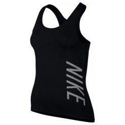 Nike Koszulka Sportowa W Np Cl Tank Logo 803169 010 S. Czarne topy sportowe damskie marki Nike, s, z materiału. W wyprzedaży za 89,00 zł.