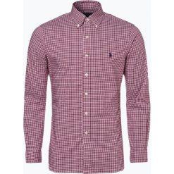 Polo Ralph Lauren - Koszula męska, czerwony. Szare koszule męskie na spinki marki Polo Ralph Lauren, l, z bawełny, button down, z długim rękawem. Za 349,95 zł.
