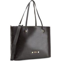 Torebka NOBO - NBAG-D3130-C020 Czarny. Czarne torebki klasyczne damskie marki Nobo, ze skóry ekologicznej. W wyprzedaży za 129,00 zł.