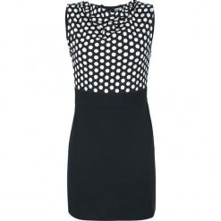 Rockabella Molly Dress Sukienka czarny. Czarne sukienki Rockabella, na imprezę, xl, w grochy, retro, z dekoltem na plecach. Za 79,90 zł.