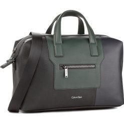 Torba CALVIN KLEIN BLACK LABEL - Alist4ir Medium Duffle K50K502314 910. Czarne plecaki męskie marki Calvin Klein Black Label, z materiału. W wyprzedaży za 469,00 zł.
