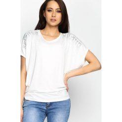 T-shirty damskie: Biały T-shirt Main Reason