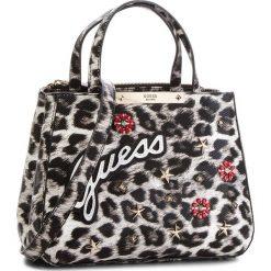 Torebka GUESS - HWLG66 93050  LEO. Niebieskie torebki klasyczne damskie marki Guess, z materiału. Za 629,00 zł.