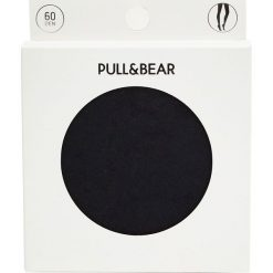 Rajstopy basic 60 DEN. Zielone pończochy i rajstopy marki Pull&Bear. Za 29,90 zł.