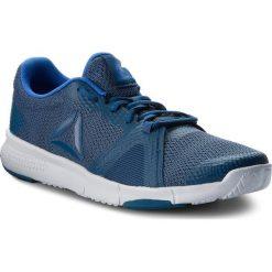 Buty Reebok - Flexile CN5362 Blue/Navy/White. Niebieskie buty fitness męskie Reebok, z materiału. W wyprzedaży za 189,00 zł.