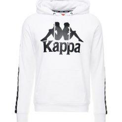 Kardigany męskie: Kappa AUTHENTIC HURTADO Bluza z kapturem white/black