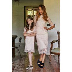 Sukienki dziewczęce: Koronkowa sukienka