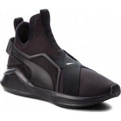 Buty PUMA - Fierce Sleek Wn's 191155 01 Puma Black/Puma Black. Czarne buty do fitnessu damskie Puma, z materiału. W wyprzedaży za 309,00 zł.