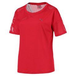 Puma Koszulka Sportowa A.C.E. Mesh Blocked Tee Ribbon Red L. Czerwone bluzki sportowe damskie marki Puma, l, z meshu. Za 169,00 zł.