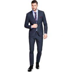 Garnitur LEONARDO GASS000046. Szare garnitury Giacomo Conti, w kratkę, z elastanu. Za 699,00 zł.