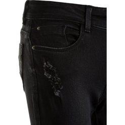 Tiffosi BLAKE  Jeans Skinny Fit dark faded wash. Czarne rurki damskie Tiffosi, z bawełny. Za 129,00 zł.