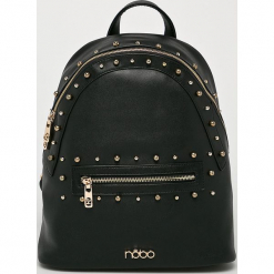 Nobo - Plecak. Czarne plecaki damskie Nobo, z materiału. W wyprzedaży za 199,90 zł.