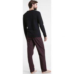 Piżamy męskie: Calvin Klein Underwear PANT CREW SET Piżama black