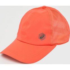 Asics Tiger - Czapka. Pomarańczowe czapki z daszkiem męskie Asics Tiger, z poliesteru. Za 69,90 zł.