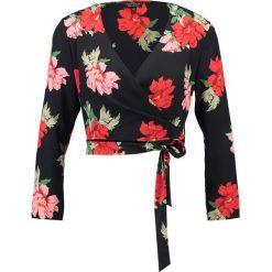 Bluzki asymetryczne: Topshop Petite SOPHIA Bluzka red