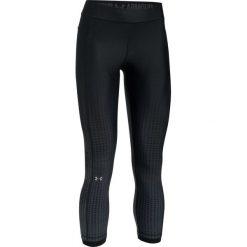 Spodnie dresowe damskie: Under Armour Spodnie damskie HeatGear Arm OvrSze L Anle Crp czarne r. S (1307494-002)