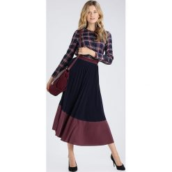 Spódniczki plisowane damskie: Rich & Royal Spódnica plisowana midnight blue