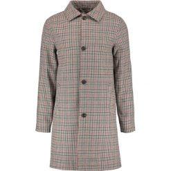 Płaszcze przejściowe męskie: Topman CHECK OVERCOAT  Płaszcz wełniany /Płaszcz klasyczny grey