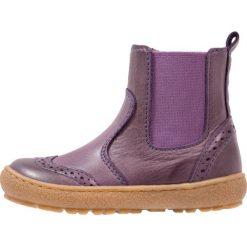 Bisgaard Botki purple. Fioletowe buty zimowe damskie Bisgaard, z materiału. W wyprzedaży za 279,30 zł.