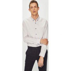 Medicine - Koszula Contemporary Classics. Szare koszule męskie na spinki marki S.Oliver, l, z bawełny, z włoskim kołnierzykiem, z długim rękawem. Za 149,90 zł.