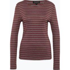 Marie Lund - Damska koszulka z długim rękawem, czerwony. Czerwone t-shirty damskie Marie Lund, xxl, w paski, z bawełny. Za 89,95 zł.