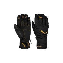 Rękawiczki Salewa  Rękawice narciarskie  Ortles PTX/PRL Gloves 25056-0901. Czarne rękawiczki damskie marki Salewa. Za 275,10 zł.