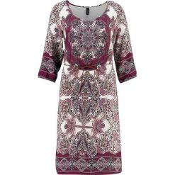 Sukienki hiszpanki: Soyaconcept OLETTE Sukienka letnia dark plum combi