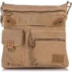 Brązowa Torba męska na ramię Harold's. Brązowe torby na ramię męskie marki Kazar, ze skóry, przez ramię, małe. Za 129,90 zł.