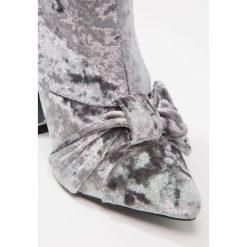 Botki damskie lity: Glamorous Botki na obcasie grey