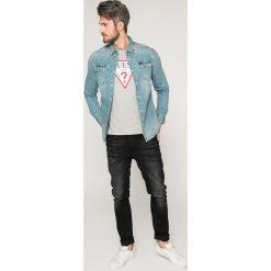 Koszule męskie na spinki: Guess Jeans - Koszula Connor