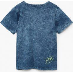 Mango Kids - T-shirt dziecięcy LLamp 110-164 cm. Szare t-shirty chłopięce z nadrukiem marki bonprix, m, z dzianiny, z kontrastowym kołnierzykiem. Za 49,90 zł.