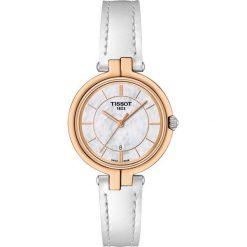 PROMOCJA ZEGAREK TISSOT T - LADY T094.210.26.111.01. Białe zegarki damskie TISSOT, ze stali. W wyprzedaży za 1100,00 zł.