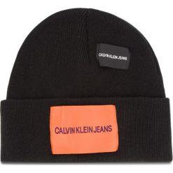 Czapka CALVIN KLEIN JEANS - J Patches Beanie W K40K400755 016. Czarne czapki męskie Calvin Klein Jeans, z jeansu. Za 179,00 zł.